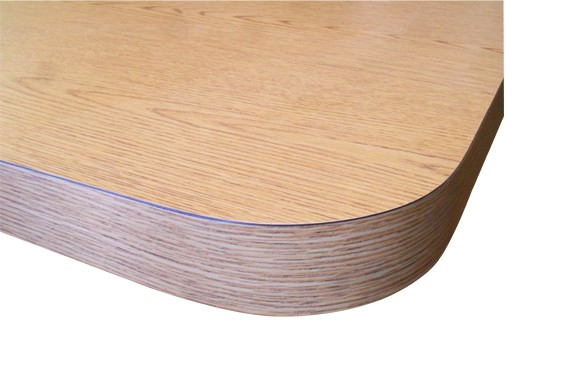 Restaurant Self Edge Laminated Table Top with 2.25 inch Edge