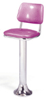 1500-530 - New Retro Dining Classic Fountain Stool with Back