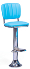 1500-939CB - New Retro Dining Classic Fountain Stool with Back