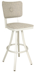 600-OX-10 BS Button Back Barstool