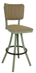 Click Here for Information on the 600-OX-30 Oxford Free Standing Swivel Channel Back Stool