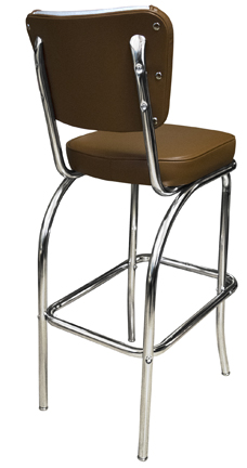 921 ELSH Retro Bar Stool Back View