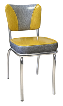 921 ELSH Retro Diner Chair Cracked Ice
