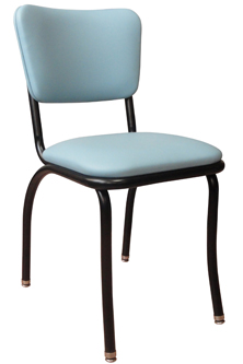 921 Retro Diner Chair with Painted Frame