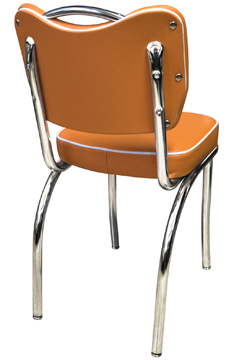 921 HB Handle Back Diner Chair GR 4 Seaquest Navel and White