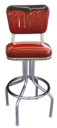 1642-4299 Retro Chevy Bar Stool