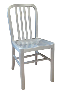 HPN-100 Aluminum Chair with a Clear Coat Finish
