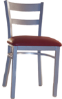LSC-250 - Legends Metal Horizontal Slat Back Chair Chair
