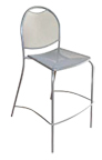 Outdoor Micromesh Stool BRK-100 BS