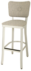 OX-110 BS Button Back Barstool