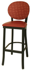 OX-120 BS Round Back Barstool