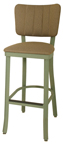 OX-130 BS Channel Back Barstool