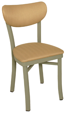 OX-40 Oxford Banana Back Diner Chair