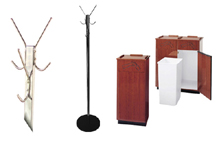 Click Here for Restaurant Accessories: Hall Customer, Booth Customer & Trash Cans