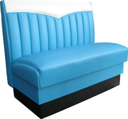 CH-1 Chevie Bench in Blue