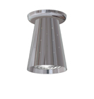 LH-17,  Retro Space Age Flush Ceiling Fixture