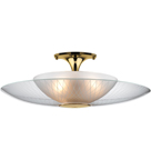 LH-22, Retro Space Age Semi-Flush Mount Light Fixture
