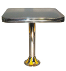 Retro Teardrop Column Table