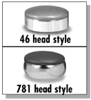 46 and 781 Stool Heads