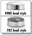 49NS and 782 Stool Heads