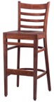 WLS-1300-BS Woodland Ladder Back Stool