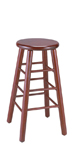 WLS-1310 Woodland Backless 30 inch Height Stool
