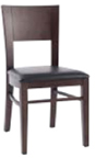 WLS-135 - Flat Back Wood Chair
