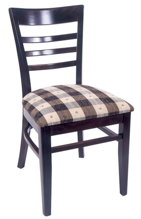 WLS-300 Woodland Ladder Back Dining Chair