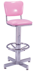"500-921 - New Retro Dining 24"" or 30"" Barstool with Back"