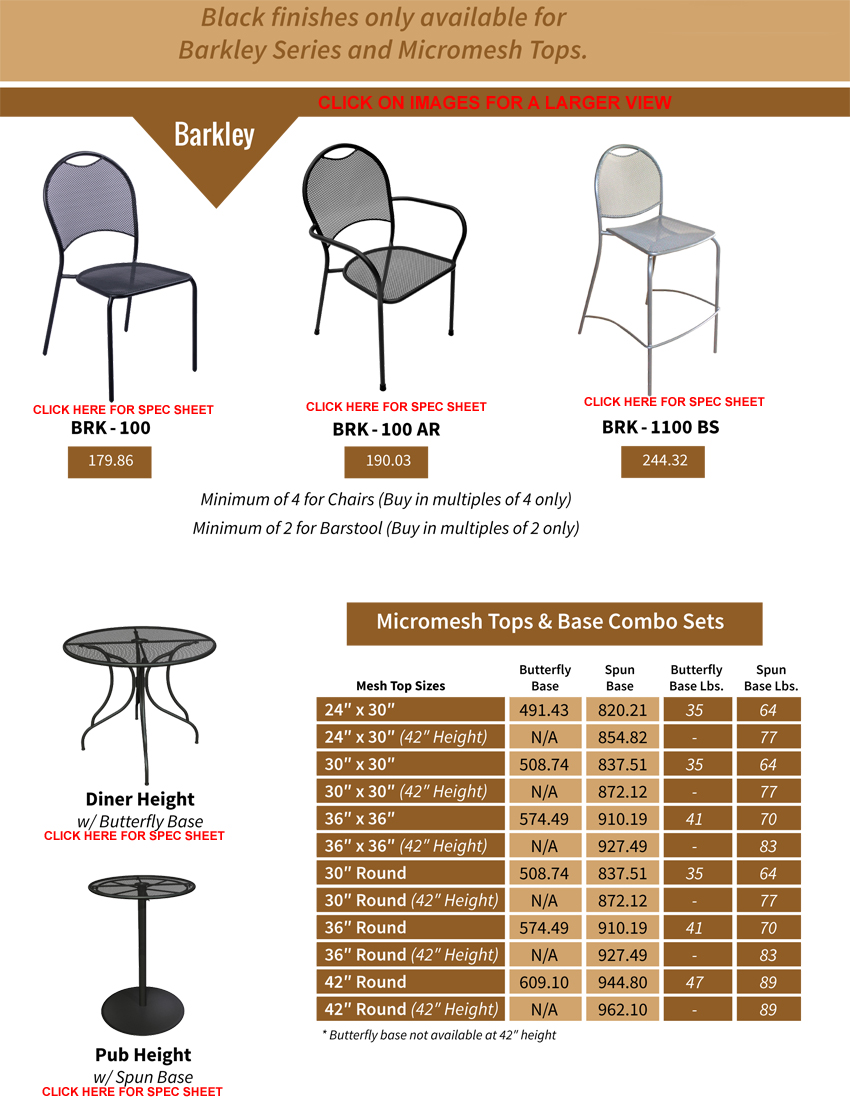 Outdoor Furniture Collection Page 3