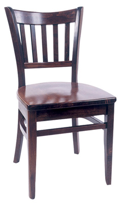 WLS-100 Woodland Slat Back Dining Chair