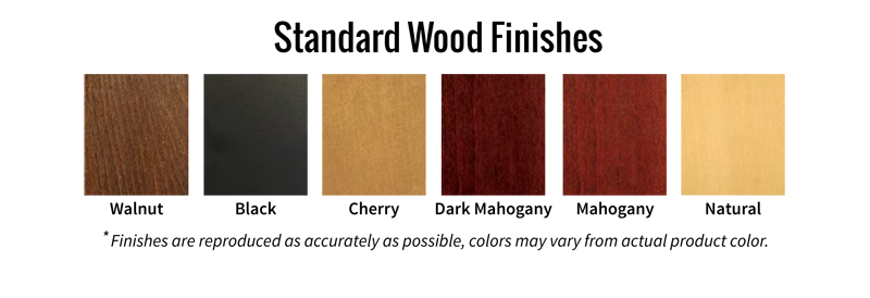 Standard Wood Finishes
